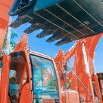 heavy equipment windshield