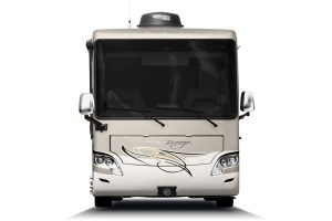 front-on view of Allegro Breeze RV
