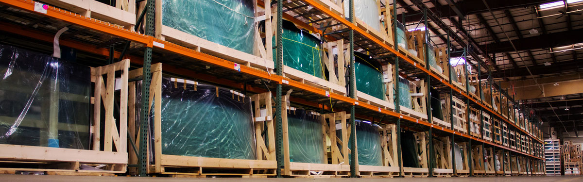 Coach Glass warehouse stocked with a vast assortment of RV and Specialty Glass windshields